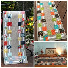 Woven Quilt Along Trends and Treasures