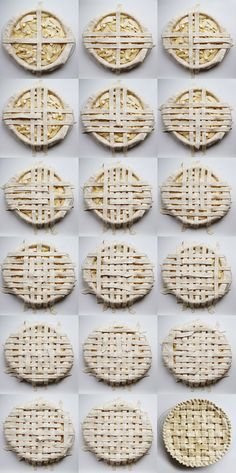 Lattice Crust step by step // Elephantine: how to make a lattice pie // cc: @Natalie Zmuda