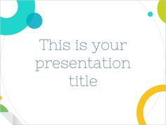 create professional decks for your meetings with this free, Presentation templates
