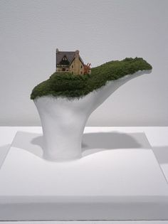 The Whole World In Your Hands Tiny Home Sculptures  (7)