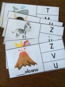 Beginning Sound Kindergarten Activity: Free Beginning Sound Printable