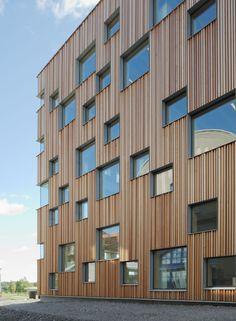 Umeå School of Architecture - Exterior photo by Åke E:son Lindman