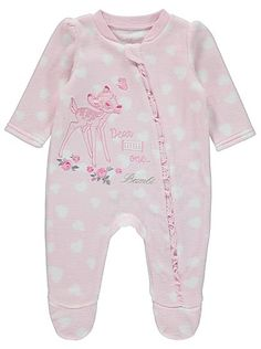 Disney Bambi Fleece Sleepsuit, read reviews and buy online at George at ASDA. Shop from our latest range in Baby. You'll be fawning over how adorable they lo...