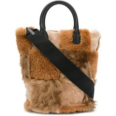 Designer Tote Bags - Designer Bags for Women Fur Purse, Fur Bag, Tote Purse, Tote Handbags, Designer Totes, Brown Purses, Leather Accessories, Marni, Shoulder Strap