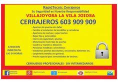 Cerrajeros en La Vila Joiosa