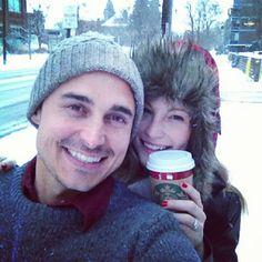 Candice and Joe. credit: Joe King's Instagram