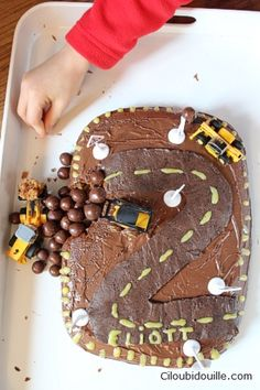 Ciloubidouille » Gâteau chantier pour petit garçon
