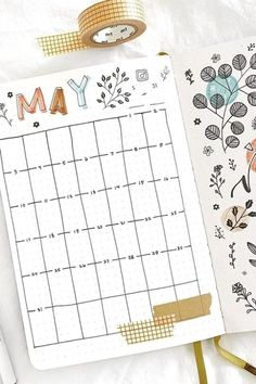 Bullet Journal Monthly Calendar, Bullet Journal First Page, Bullet Journal Banner, Bullet Journal Aesthetic, Bullet Journal Notebook, Bullet Journal Ideas Pages, Bullet Journal Spread, Bullet Journal School, Bullet Journal Inspiration