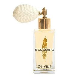 Olivine Atelier - Bluebird Eau de Parfum (Vegan + Cruelty-free). Bluebird is a limited edition fragrance! With a bright top note of blood orange and neroli, the full floral middle note accord of orange blossom and stargazer lily bring you the warmth of sun on skin. The soft creamy base notes of French vanilla and floral musk embrace you, leaving you with an inner joy, a radiance - of childlike innocence and the feeling of being home. Each perfume is packaged with a gold glitter dipped...