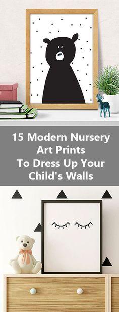 15 Modern Nursery Art Prints To Dress Up Your Child's Walls