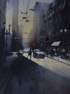 San Francisco by Alvaro Castagnet (b1954 Montevideo, Uruguay; migrated to Australia in 1983)