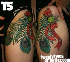 Tattoo by Tyler Borich : TattooSnob: The High End of Low-Brow