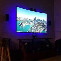 BASON USB LED TV Backlight Kit for 47 to 50 Inches, Bias Lighting LED Strip for Back of Tv Lighting Home Movie Theater Decor