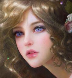 Isa close up by ruoxin zhang | Fantasy | 2D | CGSociety