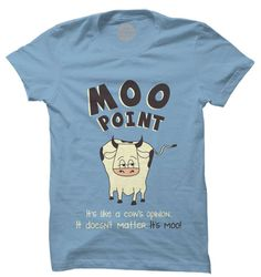 Moo Point T-Shirt | Buy Friends Official Merchandise T-Shirts India