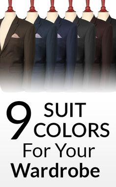 Which Suit Colors To Buy In Priority Order