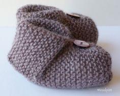 ♥ Babyschühchen British Mohair ♥     Gut sitzende, kuschelig warme Baby-Schühchen gefertigt aus einer Garnrarität:  British Mohair-Garn aus 100% Mo...