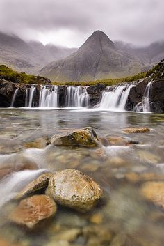 Fairy Pools - Glenbrittle, Isle of Skye, United Kingdom by Bart Heirweg