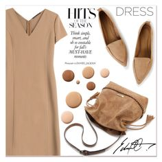 """""""Beige Motion"""" by lucky-1990 ❤ liked on Polyvore featuring Agnona and Lumière"""