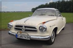 Borgward Isabella TS Coupé, 1961.