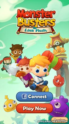 Monster Busters Link Flash Cheats & Hack for Gold Coins & Lives  #Adventure #MonsterBustersLinkFlash #Strategy http://appgamecheats.com/monster-busters-link-flash-cheats-hack/