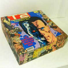 Terminator 2 Vintage Comic Book Collage Cigar Box by PaperVsGlue, $29.99