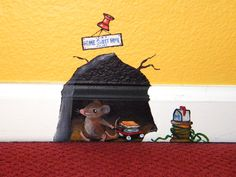 "mouse house, ""Home Sweet Home""  by Rachel Nigh"