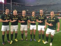 OLd Grey Rugby Springboks