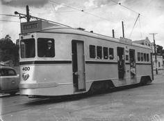 Brisbane tram.