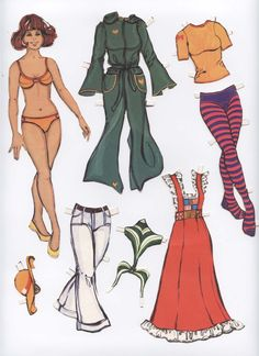 My old paperdolls - family * The International Paper Doll Society by Arielle Gabriel for all paper doll and paper toy lovers. Mattel, DIsney, Betsy McCall, etc. Join me at ArtrA, #QuanYin5 Linked In QuanYin5 YouTube QuanYin5!