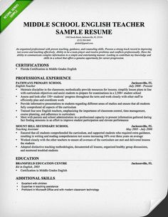 English Teacher Resume High School File CV Resume Sample  Teacher Sample Resume