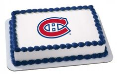 hockey themed birthday cakes montreal | Canadiens de Montréal gâteau/cake