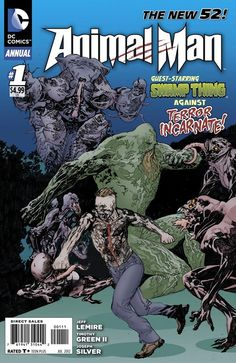 Animal Man Annual #1 Preview