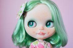 OOAK Custom Factory Blythe Doll Patty by MissFreyaJ