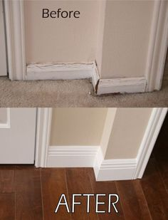 Beautiful DIY Baseboards and Moldings on a Budget, #amazing #baseboards #homeideas Tags: baseboard ideas for tile floors, baseboard ideas for stairs, baseboard ideas for kitchen, alternative baseboard ideas, baseboard corner designs, baseboard trim color ideas