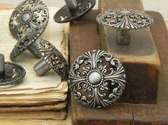 vintage drawer knobs - Google Search