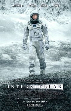 Interstellar. I've always had a mancrush on Matthew McConaughey, but this film just cemented it. He was brilliant as the NASA pilot turned father/farmer turned intrepid explorer turned saviour. Great movie. Loved it.