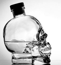 I have this bottle! It's so cool! And the vodka isn't bad either...