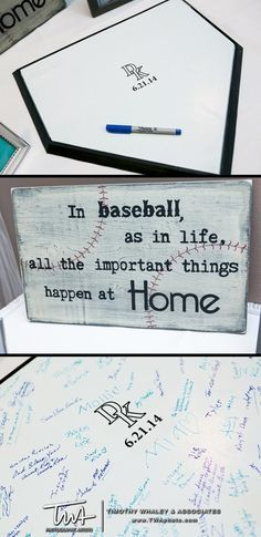 """""""In baseball as in life...all the important things happen at home."""""""