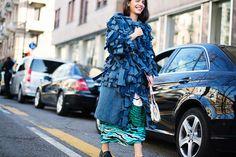 Street style Milan Fashion Week febrero 2014 III: Georgia Tal