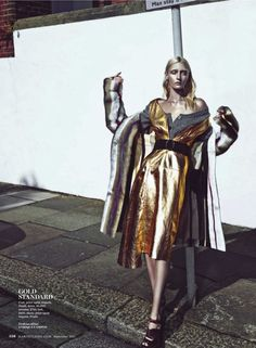 Urban Legends: Kamila Filipcikova And Alexa Yudina By Boe Marion For Us Marie Claire September 2013