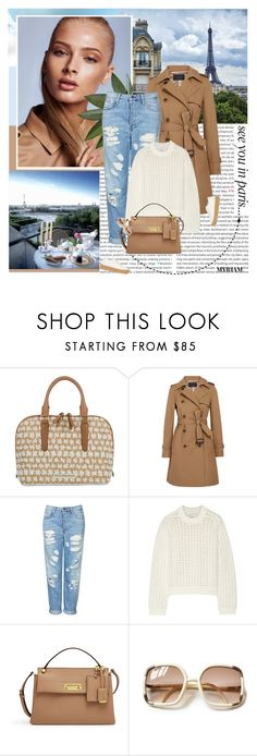 """Bonjour Paris"" by lovemeforthelife-myriam ❤ liked on Polyvore featuring Brahmin, Lonely Planet, J.Crew, Topshop, 3.1 Phillip Lim, Henri Bendel and MM6 Maison Margiela"