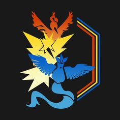 Check out this awesome 'Legendary+Teams' design on @TeePublic! #pokemongo #pokemon #legendary #mystic #instinct #valor