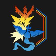 Check out this awesome 'Legendary+Teams' design on @TeePublic! #pokemongo #pokemon #legendary #mystic #instinct #valor