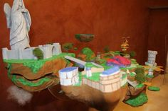 Behold: The Legend of Zelda Animated Skyward Sword Cake I WANT THIS SO BADLY GIMMIE GIMMIE GIMMIE!!!!