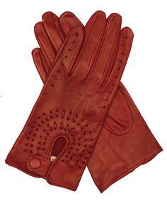 Leather Driving Gloves By Fratelli Orsini-I LOVE GLOVES