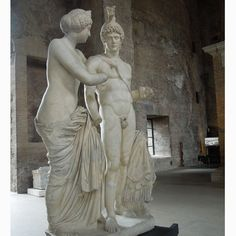 Statues of Venus and Mars at the Diocletian Baths in Rome.  Click on the link for a titillating story published in 2010. http://www.telegraph.co.uk/news/worldnews/europe/italy/8144012/New-penis-for-statue-in-Silvio-Berlusconis-Rome-office.html