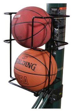 d749e499db31 Amazon.com  Basketball Butler 2 Ball Storage Rack  Sports   Outdoors