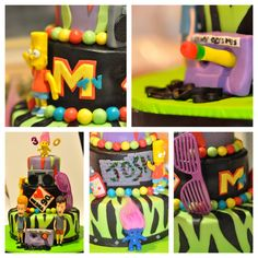 Awesome 90's cake! From Toycake.com