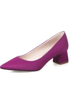 Women's High Heeled Shoes Pointed Toe Pumps (Purple) - Intl | ราคา: ฿1,540.00 | Brand: Unbranded/Generic | See info: http://www.topsellershoes.com/product/19051/womens-high-heeled-shoes-pointed-toe-pumps-purple-intl